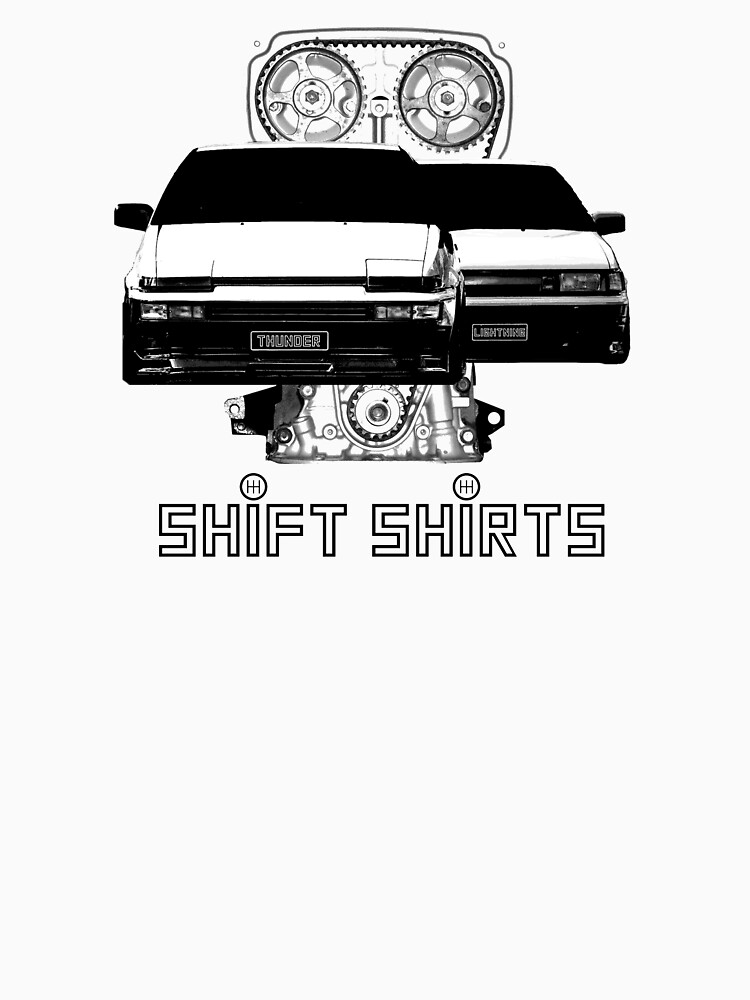Shift Shirts Lightning and Thunder - AE86 Inspired by ShiftShirts