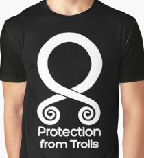 Troll Cross, Protection from Trolls Graphic T-Shirt