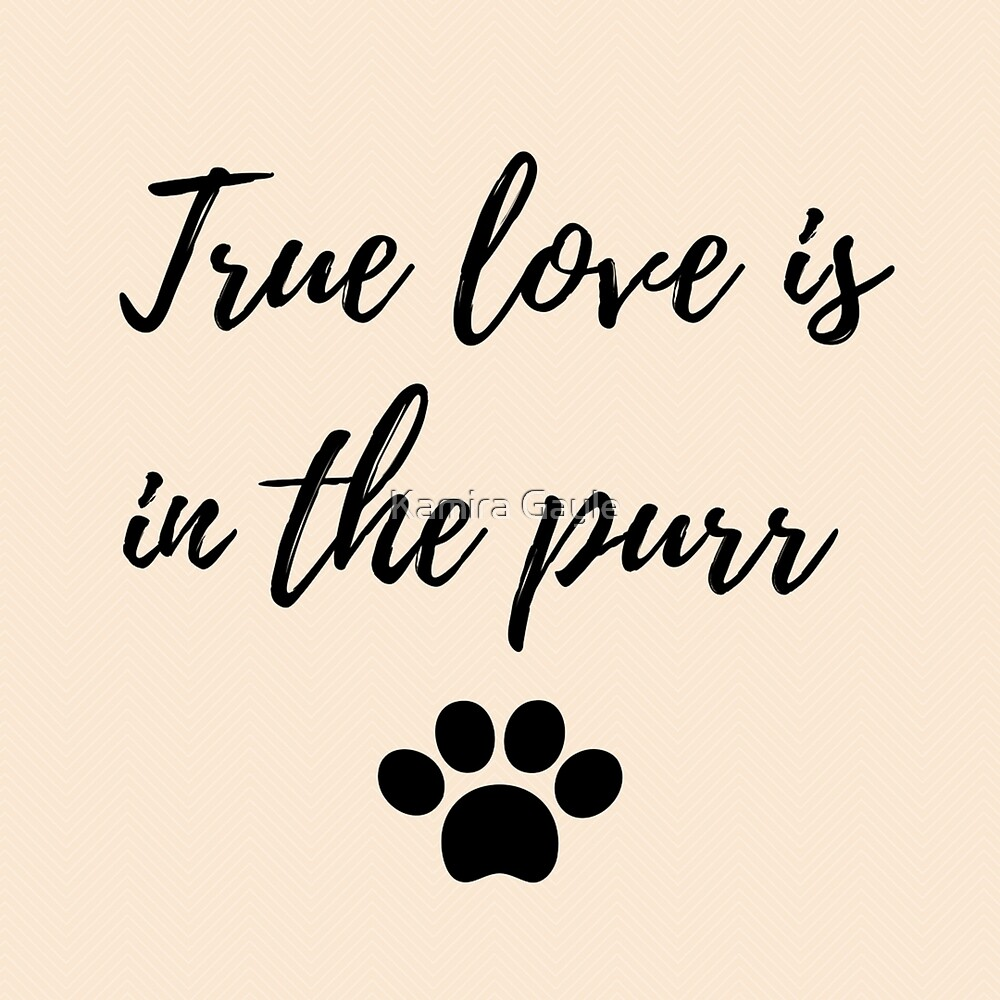 True love is in the purr by Kamira Gayle