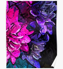 The Pink and Purple Flowers 1 Poster