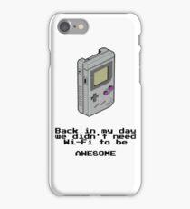 Game Boy Retro Tee iPhone Case/Skin