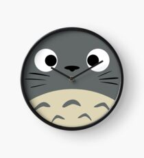 Curiously Totoro Clock