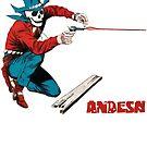 Die, Cowboy, Die! by andesndesigns