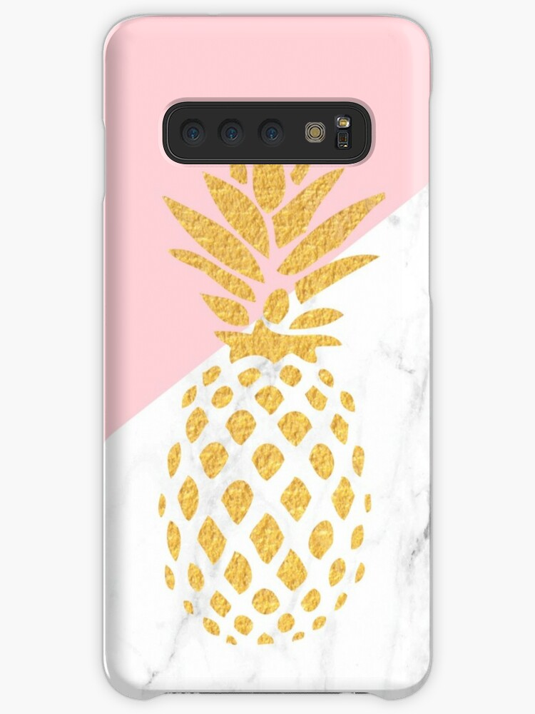 new style 81175 35819 'Iphone Android Phone Cases Gold Pineapple Phone Case' Case/Skin for  Samsung Galaxy by Makx Media
