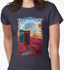 13th Doctor at gallifrey planet Women's Fitted T-Shirt