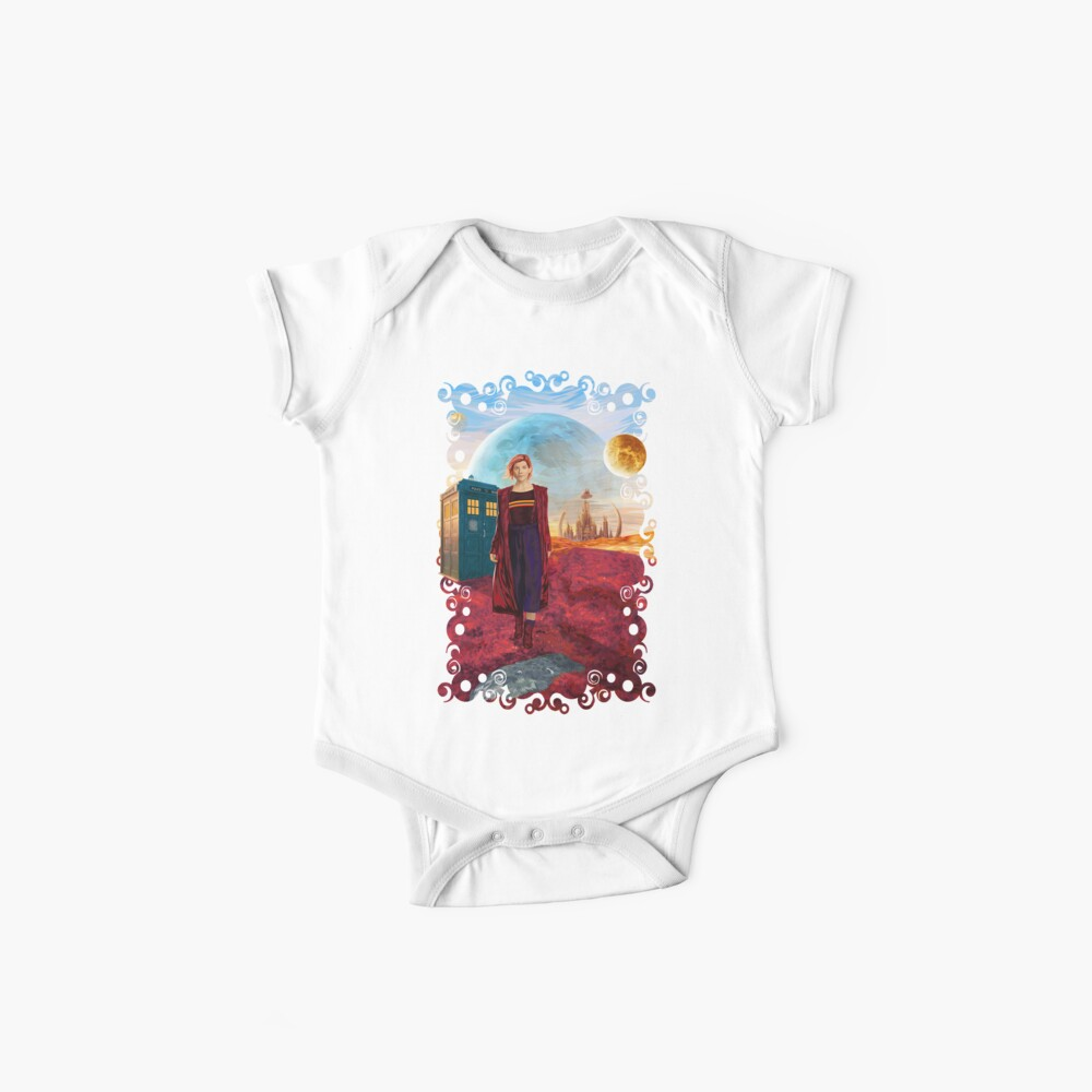 13th Doctor at gallifrey planet Baby One-Pieces