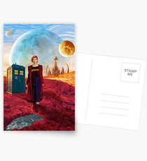 13th Doctor at gallifrey planet Postcards