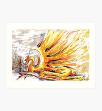 When Dragons Speak Art Print