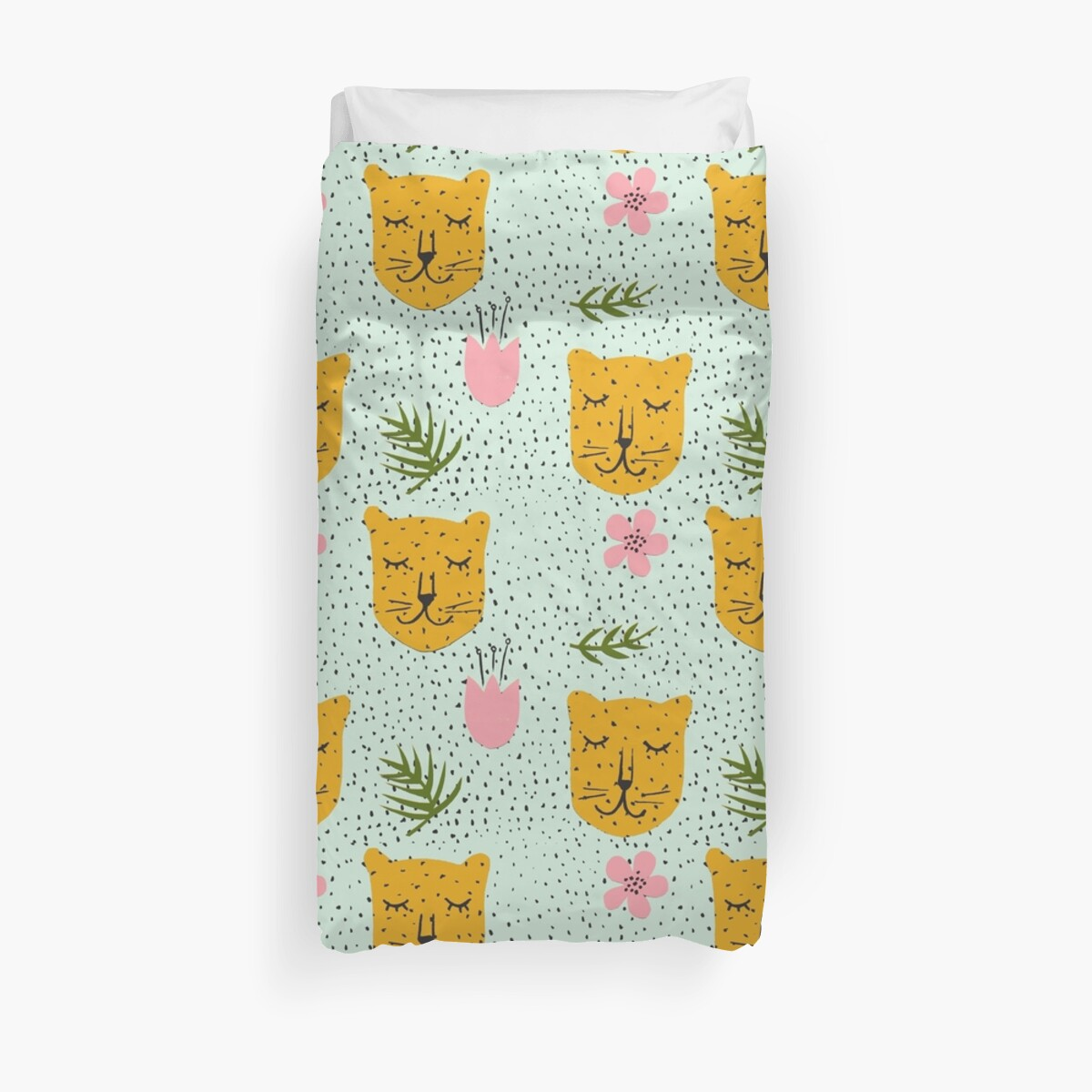 Spotty Wall Stickers Quot Spotty Leopards Quot Duvet Covers By Inesa Redbubble