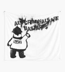 All Cops Wall Tapestry
