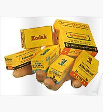 Kodak Kodachrome. Everyones Favourite Film!  Poster
