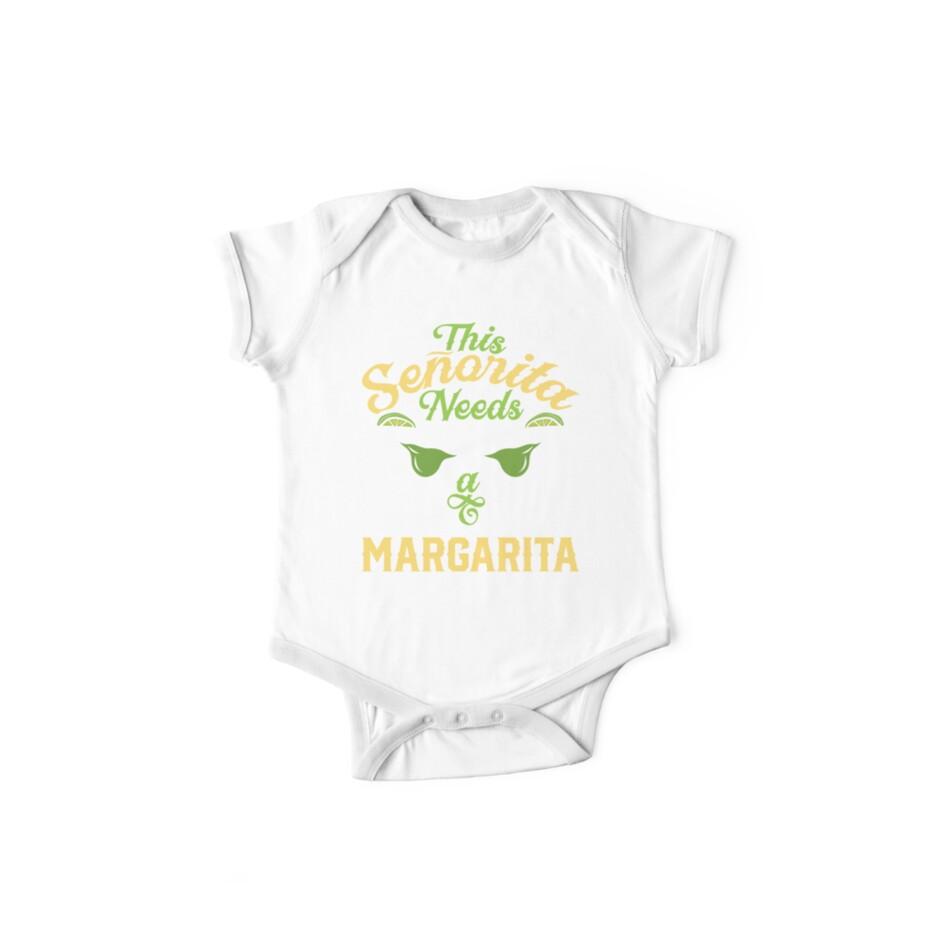 f791889da08 This Senorita Needs a Margarita T shirt Cinco de Mayo Women
