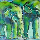 I may be young but I'm not green.....Uh oh !!! by christine purtle