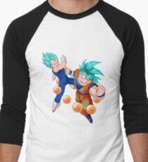 Super Saiyan God's © XERACX Men's Baseball ¾ T-Shirt