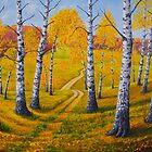 Autumn Pathway by Veikko  Suikkanen