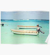 Caribbean Sea Poster