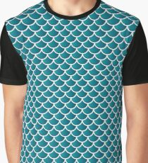 Squama fish snake lizard scales seamless Graphic T-Shirt
