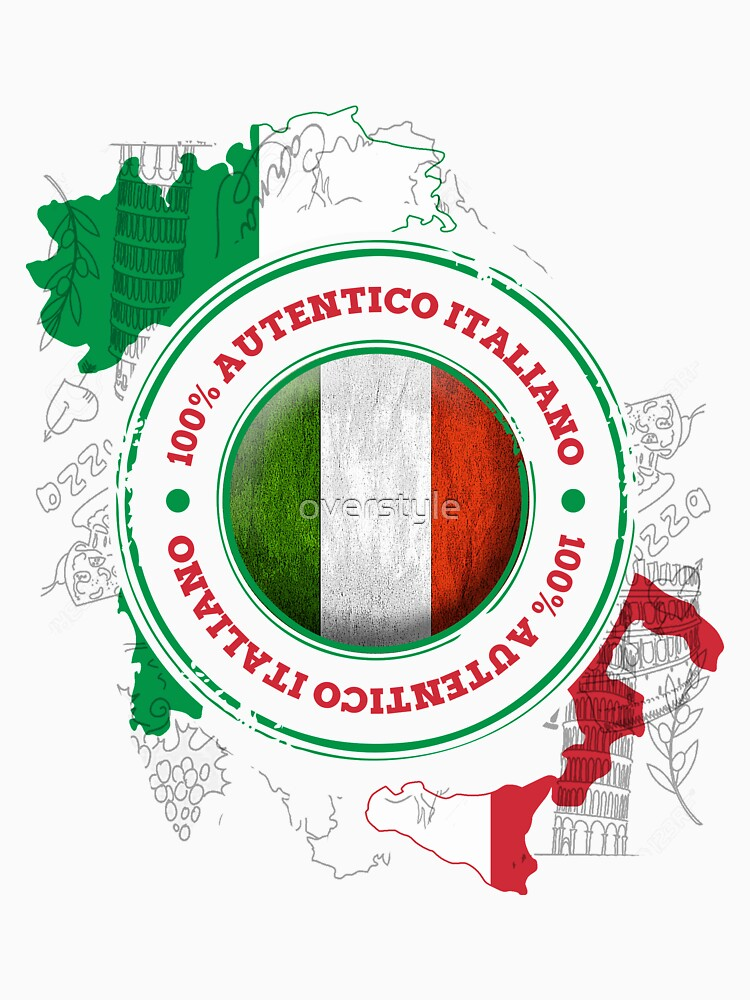 Authentic Italian Flag by overstyle