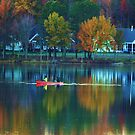 SCENIC FALL VIEW by ANNABEL   S. ALENTON