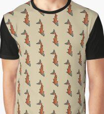 Graphic Red Chinook Salmon Graphic T-Shirt