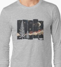 Starry Night in the Mountains... Long Sleeve T-Shirt