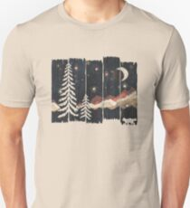 Starry Night in the Mountains... Unisex T-Shirt