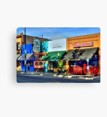 Remembering Historic Whiskey Row Canvas Print