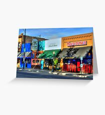 Remembering Historic Whiskey Row Greeting Card