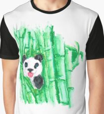 My home Giant Panda Graphic T-Shirt