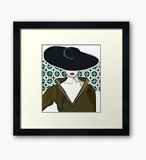 Woman Secrets - Louie Framed Print