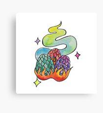 Dragon eggs Canvas Print