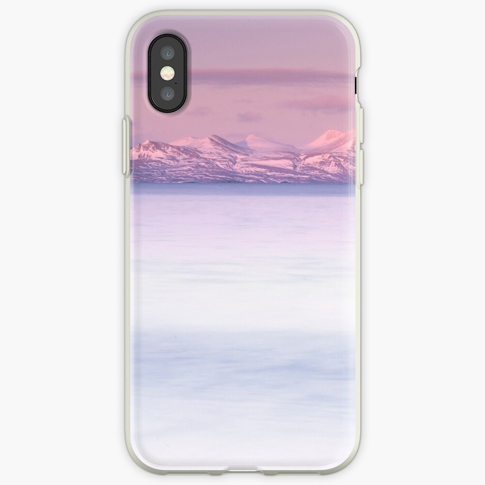 dusky pink iPhone Case & Cover