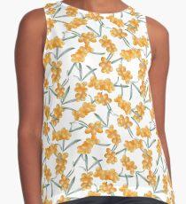 Watercolor sea buckthorn pattern Sleeveless Top
