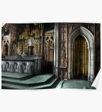 Perfectly Preserved Pulpit Poster