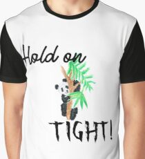 Hold on tight little panda Graphic T-Shirt
