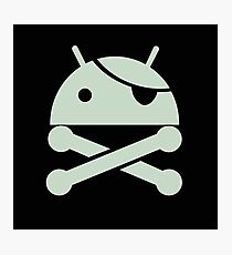 Anti-android, operating system. Photographic Print