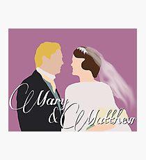 DA: Mary e Matthew Photographic Print