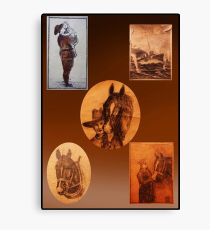 1929 Ancestor Art Canvas Print