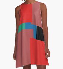 Colourblock by definition A-Line Dress