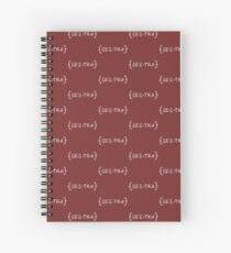 Sestra - Orphan Black Spiral Notebook