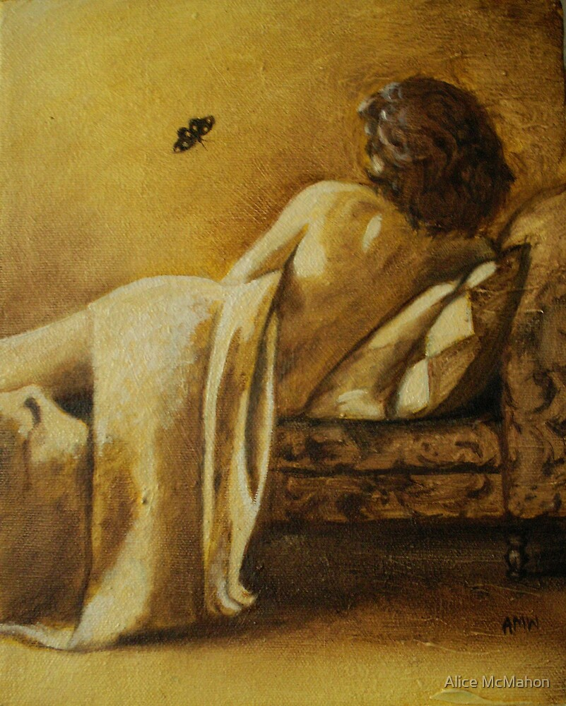"""Danaë"" Daily Painting ~ study by Alice McMahon"