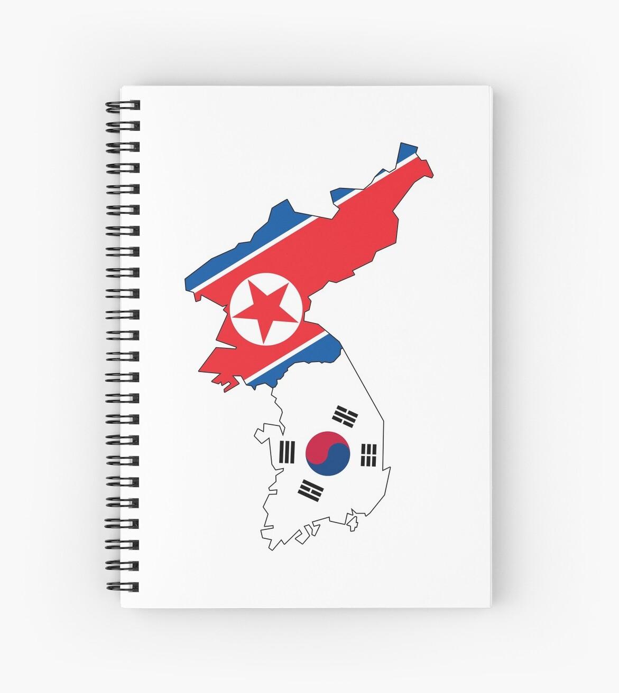 Korea Kontinent Flags von PRODUCTPICS