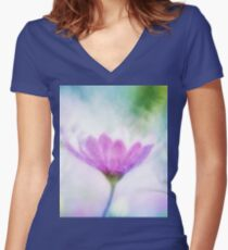 Welcome to Spring Women's Fitted V-Neck T-Shirt