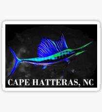 Salty Sailfish (Cape Hatteras, NC) Sticker