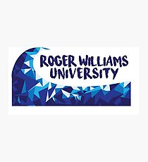 Roger Williams Wave Photographic Print