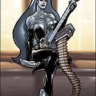 Missile Guitar 003 by Ian Sokoliwski