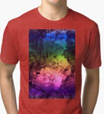Plum blossom in full beauty - Abstract 001 Tri-blend T-Shirt