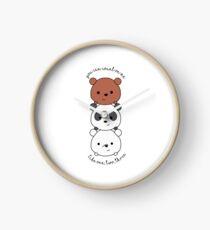 We Bare Bears Inspired Clock