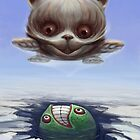 Arctic Flying Possum meets Wrong Fish by Tom Godfrey