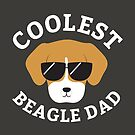 Coolest Beagle Dad by cartoonbeing